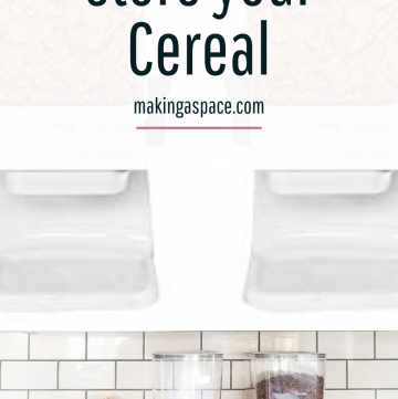 Good Grips Cereal Organizer Review