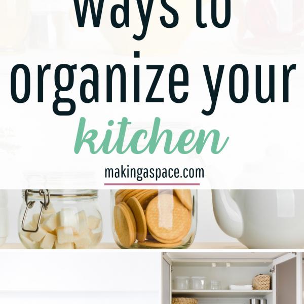 The Best Ways to Organize your Kitchen