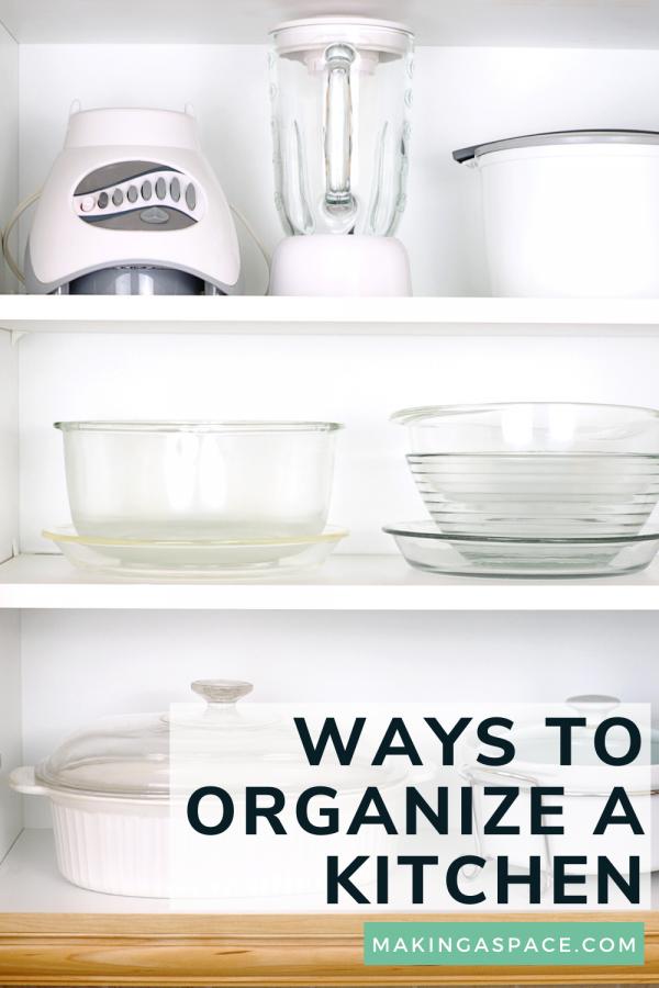 ways to organize a kitchen