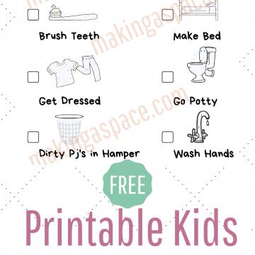 Kids Printable Chart