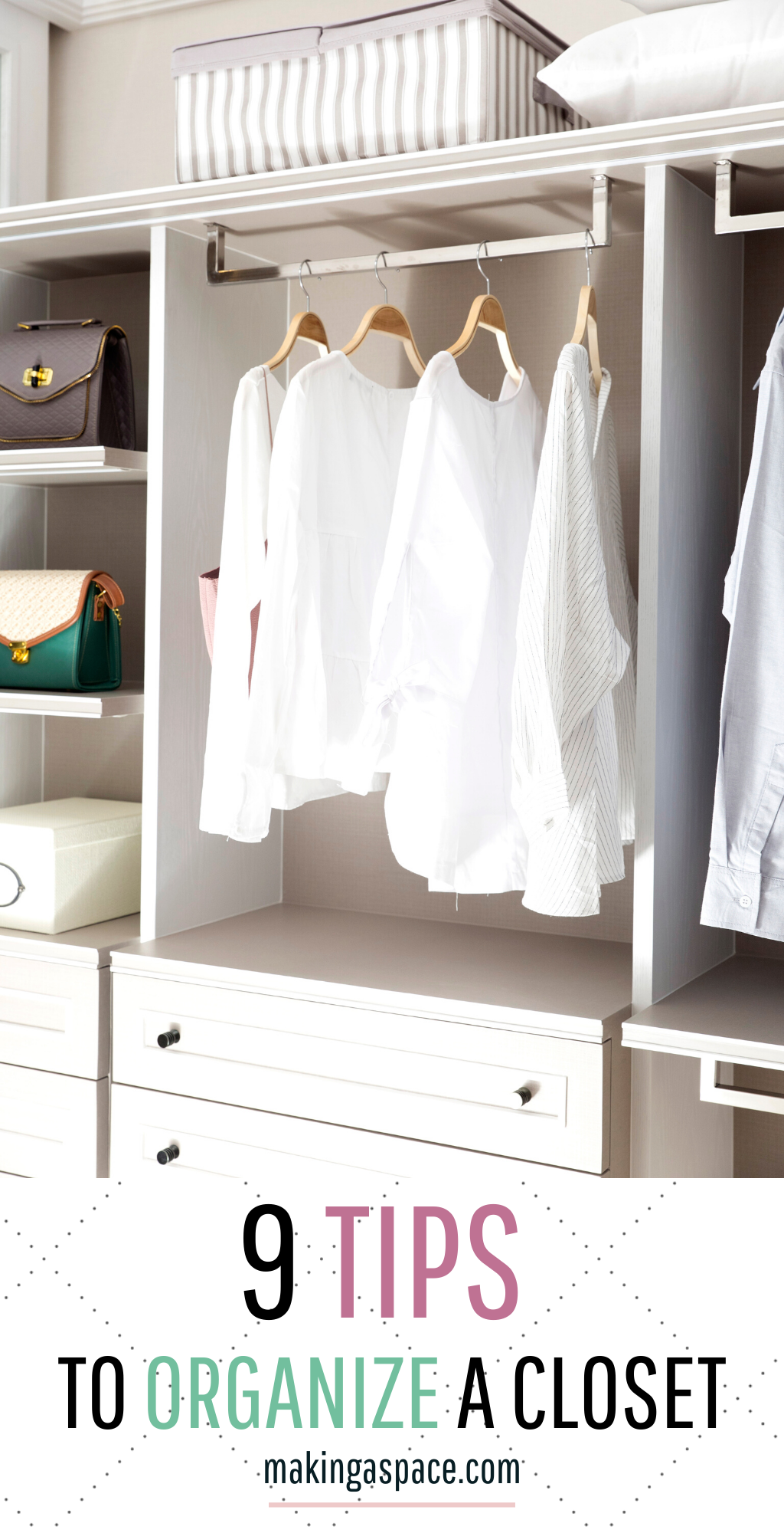 Closet Storage Ideas to Organize