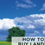 how to buy land smartly
