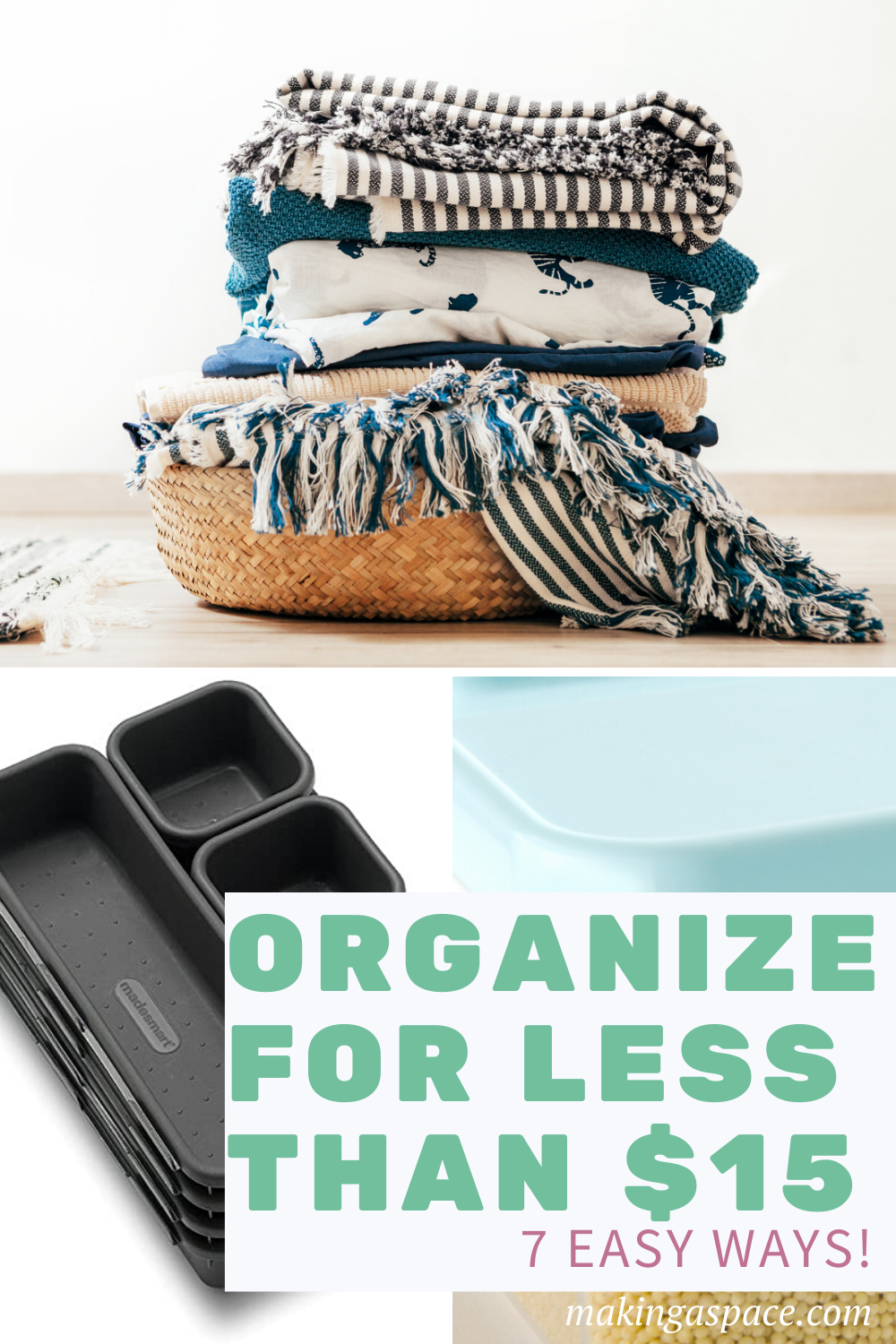 Best ways to organize for cheap!