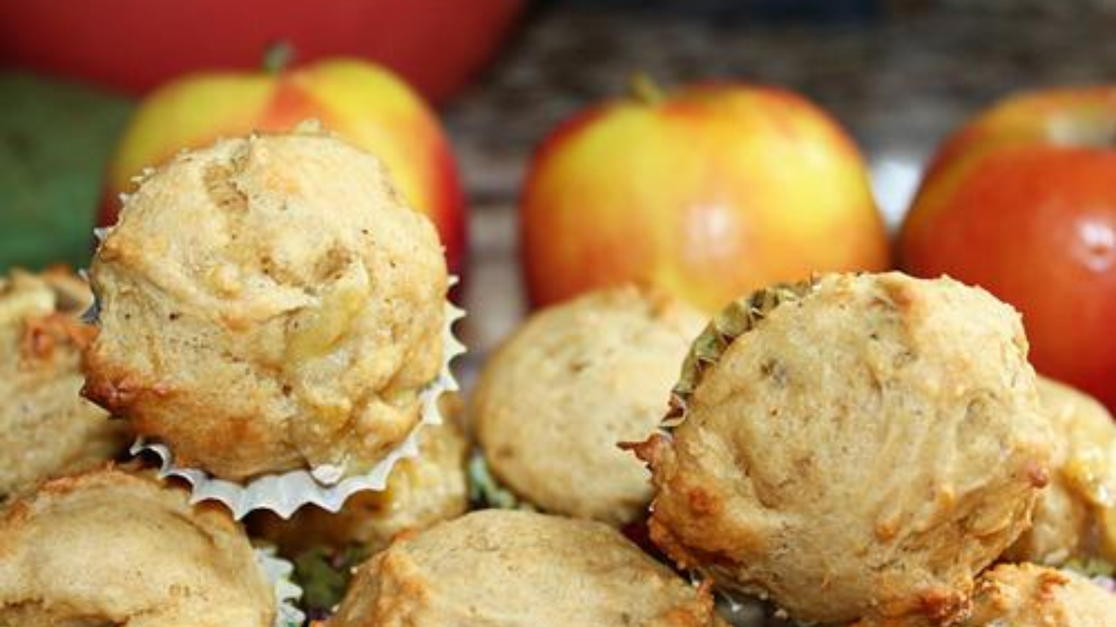 Apple Banana Muffins for an After School Snack