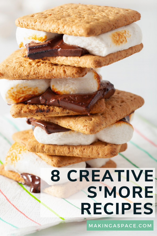 Creative ways to make smores
