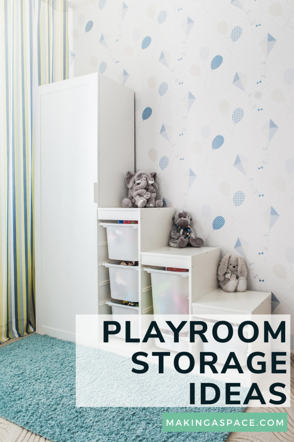 Playroom Storage & Organization Ideas