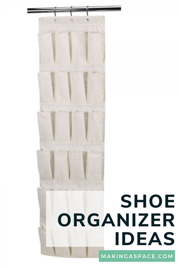 Ways to organize with a hanging shoe organizer