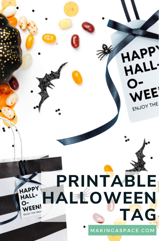 Halloween Printable Bag Tags