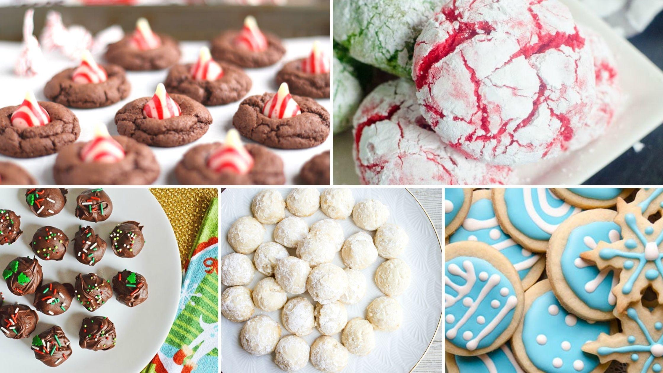 Few ingredient Christmas cookies