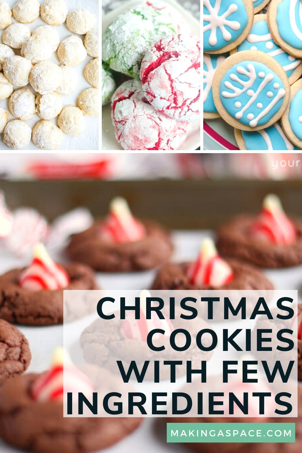 Christmas Cookie Recipes with Few Ingredients