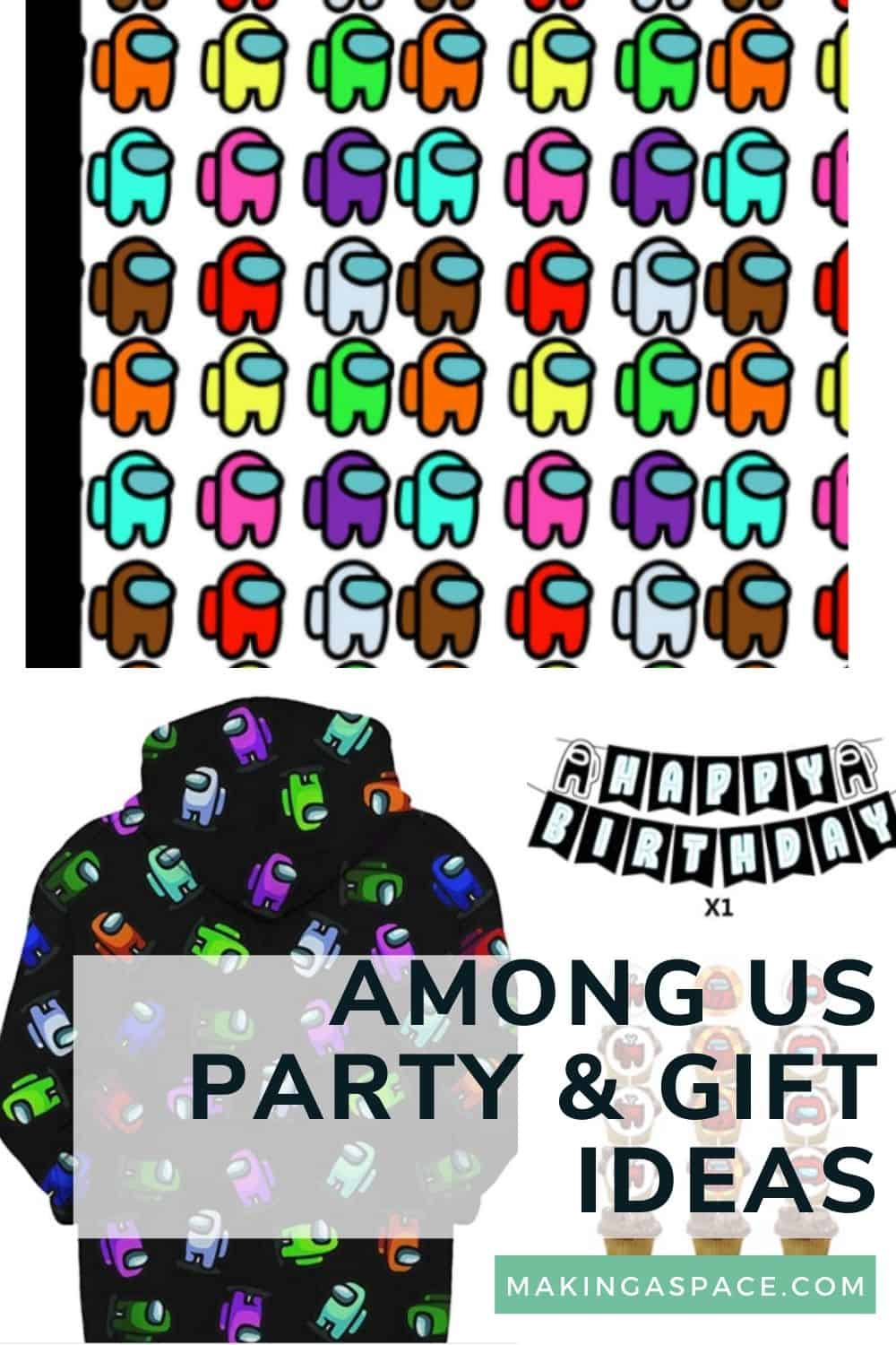 Among us Party and Gift Ideas