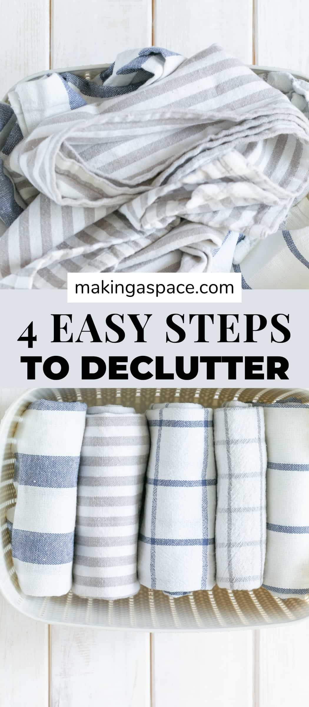 four easy ways to declutter