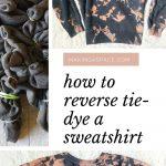 Reverse TIe Dye Sweatshirt